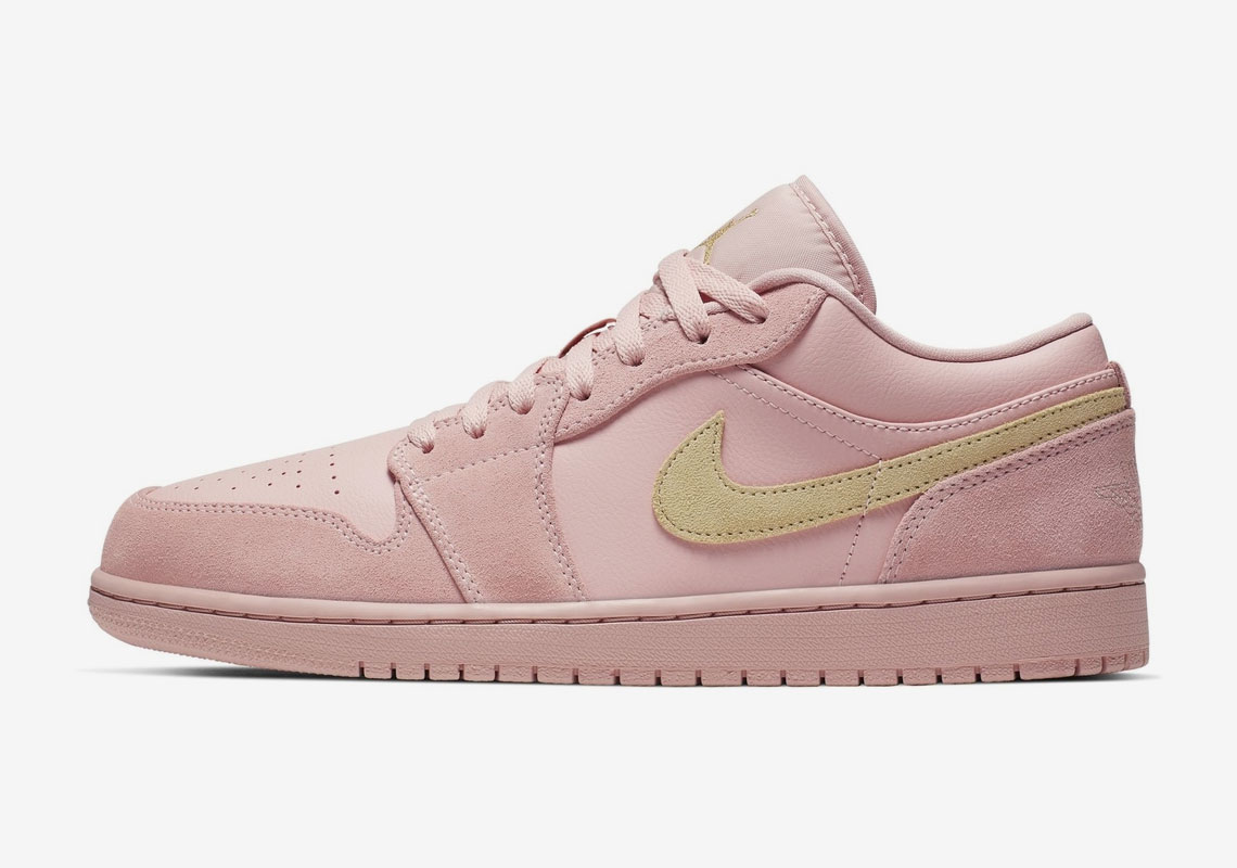 Air Jordan 1 Low To Release In A Matching Coral Suede – BUZZSNKR