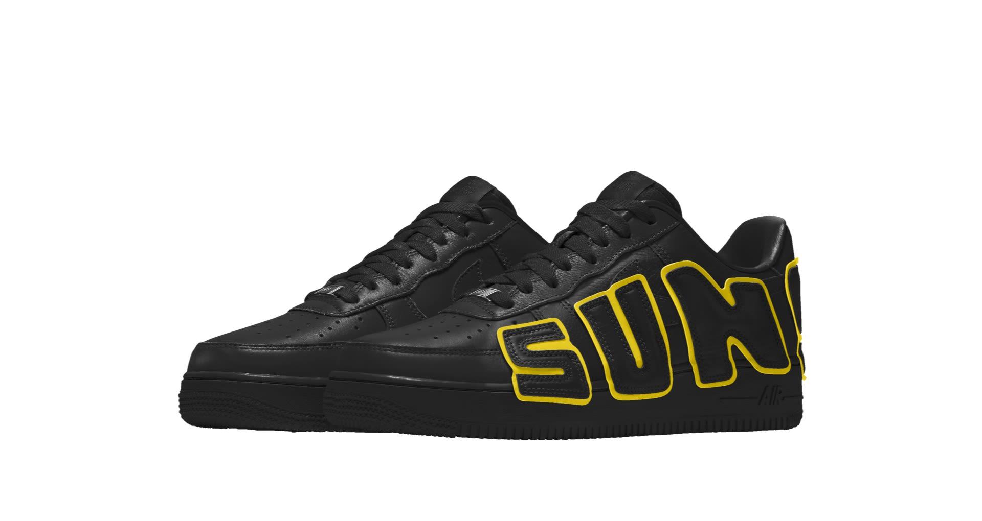 sciarpa Fa i lavori domestici Pancia  CPFM x Nike Air Force 1 By You 'Custom Shoe' - BUZZSNKR
