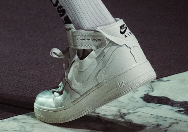 Comme des Garçons x Nike Air Force 1 Mid 2